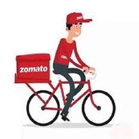 Cyclist Required Food Delivery