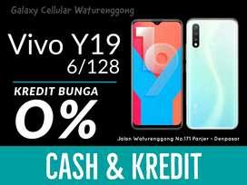 Vivo Y19 8/128 Garansi Resmi Cash & Credit