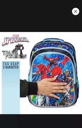 Tas usap sekolah anak spiderman