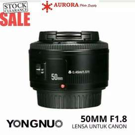 Yungnuo 50mm f1.8 for canon