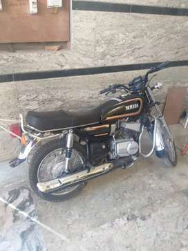 Yamaha RX135 good condition fully document
