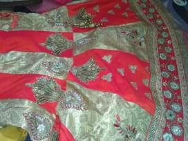 Beautiful lahunga set free size