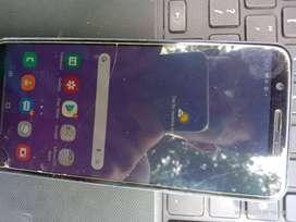 Samsung J8 Galaxy. Ram 4GB. Rom 64.Double Camera on backside with 16+5