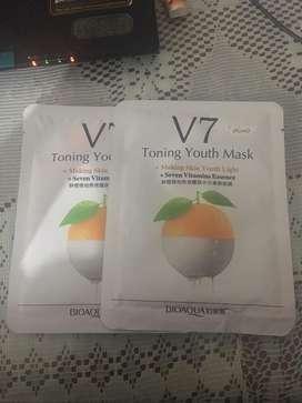 V7 Toning Youth Mask Sheet