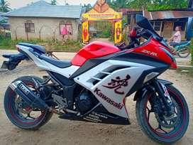 Kawasaki ninja 250 ABS 2013