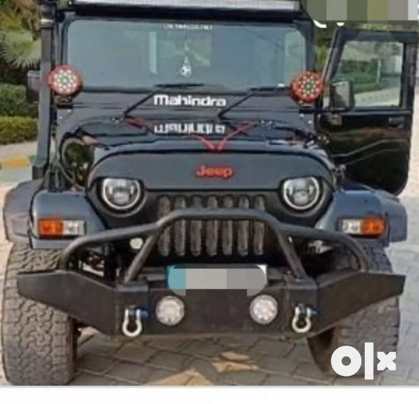 Modified mahindra thar jeep 0