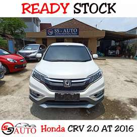New Honda CRV 2.0 AT 2016 1stHand Odo30rban FullOrisiniL