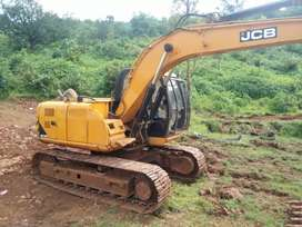 Jcb JS 140 with hamrock breaker selling EMI BASIS