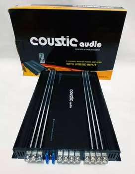 Power 4ch Usb CousticAudio