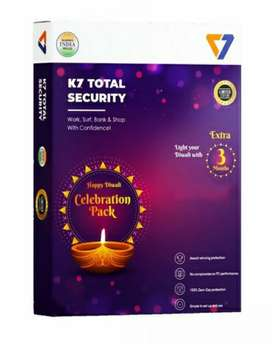 K7 Total Security Antivirus 1year + 3 Month Limited edition