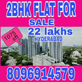 2bhk flat for sale near sharmerpet leoina resort
