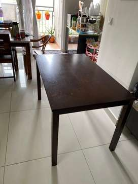 Black walnut long table