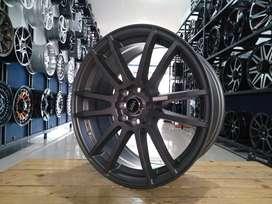 For sale velg HSR NOSHIRO ring17x7,5 pcd8x100/114,3 et38 bisa TT