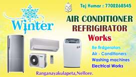 Ac , fridge, washing machines,service