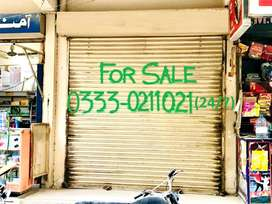 Shop for SALE in Nazimabad No. 5 (Paposhnager) Karachi