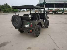 Open Jeep modified in Punjab