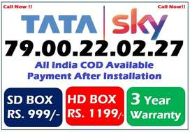 Tata = Sky - Free Installation All india