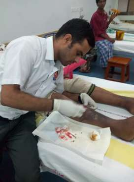 Medical care services (Dressing / wound care)