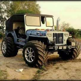 Mahindra modified Jeep Punjab Moga