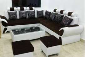 offer price Buy New sofa Set 8500, L Shape sofa 13999/- only