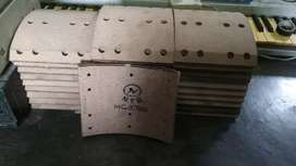 Kampas rem depan dan belakang fuso