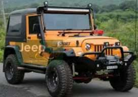 Mahindera thar Di sports modified jeep