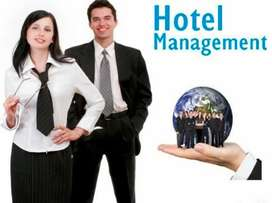 Hotel Management fresher job in Ministry