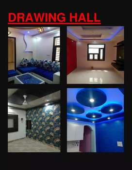 50 SQ yards 1bhk 2-side open flat with bike parking at 13 lacs loan