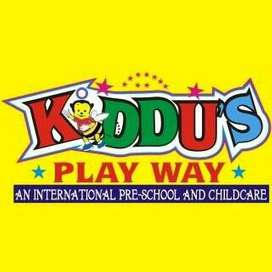 Admissions are open for Play Group, Pre-Nursery, Nursery and KG