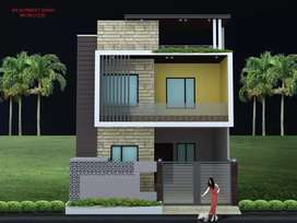 Double storey home in new urban estate
