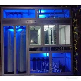 Mesin depot air minum isi ulang gress