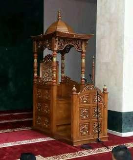 mimbar masjid modern