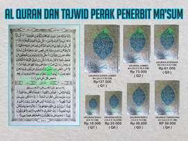 Al Quran Ma'sum cover perak murah (Purworejo)