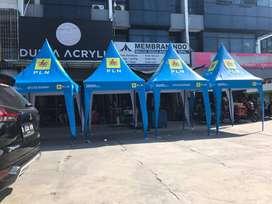 tenda kerucut tenda usaha 2x2 printing