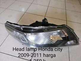 Headlamp Honda City 2009 - 2011