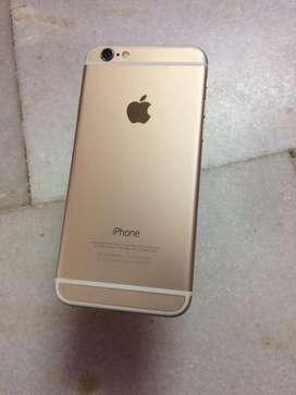 Iphone 6 16gb gold.