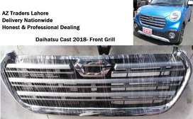 Daihatsu Cast 2018 2019 Front Bumper Grill In Chrome Original Genuine