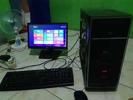 1 Set Komputer Core 2 Duo 6300