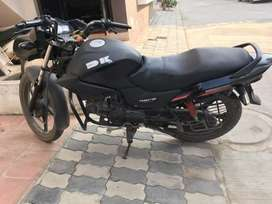 2011 year model Matt black color with electric starter