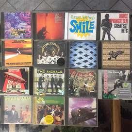 CD musik 101 judul import dan lokal bonus kaset 28 buah