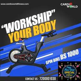 Pongal offer  on commercial Spin Bikes