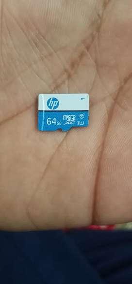 Memory card class 10 64 GB