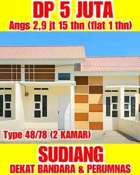 Rumah Murah di Makassar, dkt Perumnas SUDIANG dan SMP 36 Makassar