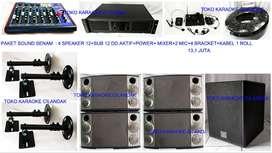 paket sound system untuk rumah tangga
