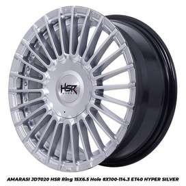 Velg Mobil Ring 15 HSR untuk nissan livina, Avanza Jazz vios dll