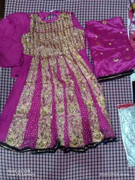 Suit including pajami and dupatta