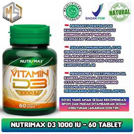 Vitamin d3 1000iu penuhi kebutuhan vitamin D (nutrimax)