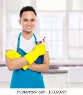 Young/kid male helper required for house chores