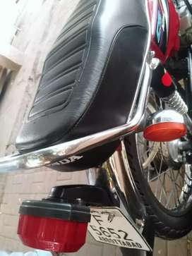 Honda cg 125. 15 modle 18 register.