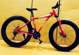 Ferrari 21 Gear Fat Freedom Cycle Shimano Gears HIGH SPEED CYCLE
